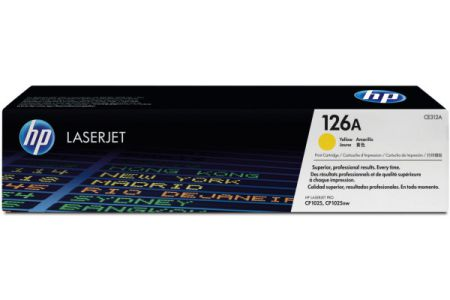 HP        Toner-Modul 126A        yellow
