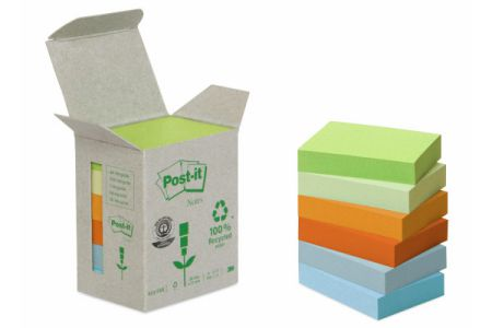 POST-IT   Haftnotizen Recycling  38x51mm