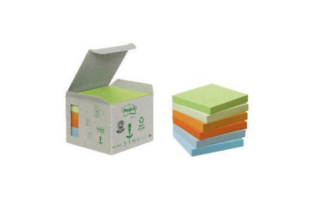 POST-IT   Haftnotizen Recycling  76x76mm