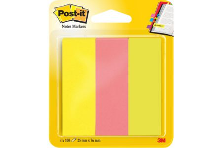 POST-IT   Page Marker Neon       76x25mm