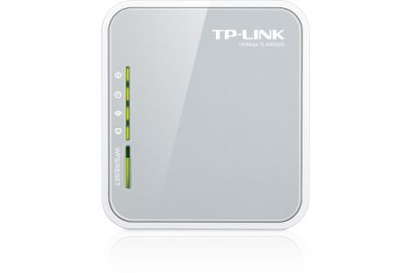 TP-LINK   Wireless-N Router 3G Portable